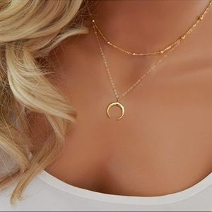 Jewelry - Ladies Sassy and Stylish 2 layered necklaces